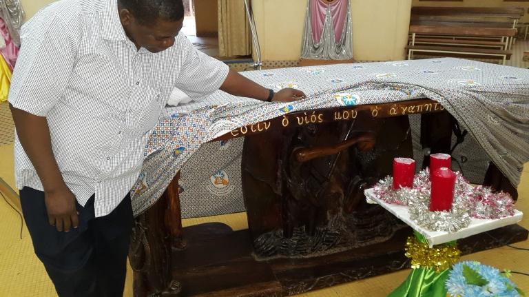 Baptism of Jesus altar