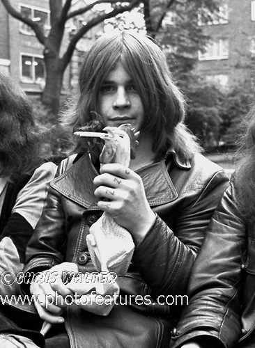 Black Sabbath 1970  Ozzy Osbourne © Chris Walter